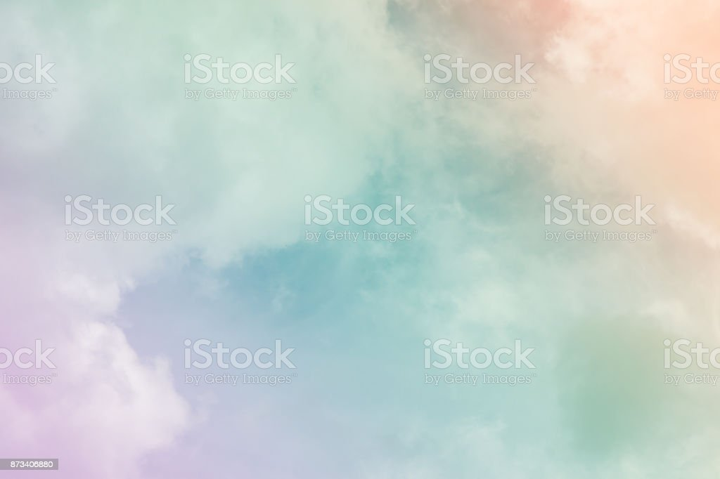 Colorful sky and clouds. (heaven) stock photo