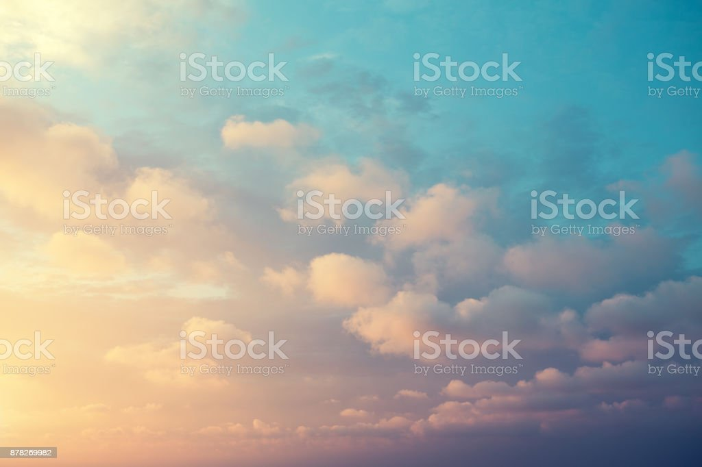 Colorful Sky stock photo