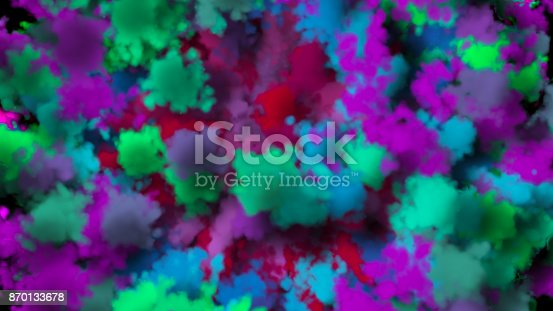 istock colorful smoke on black background 870133678