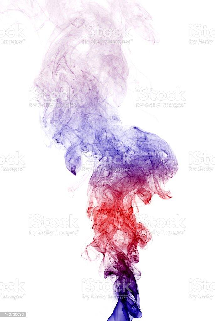 Colorful  Smoke royalty-free stock photo