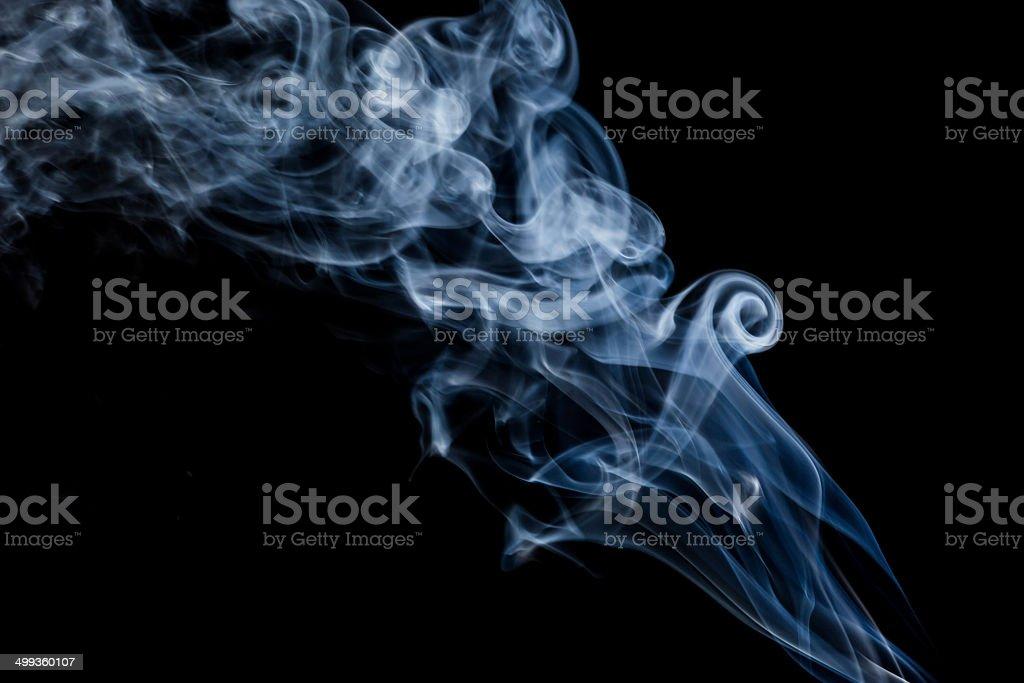 Colorful smoke stock photo
