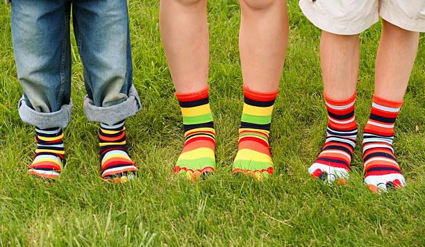 Colorful Socks stock photo