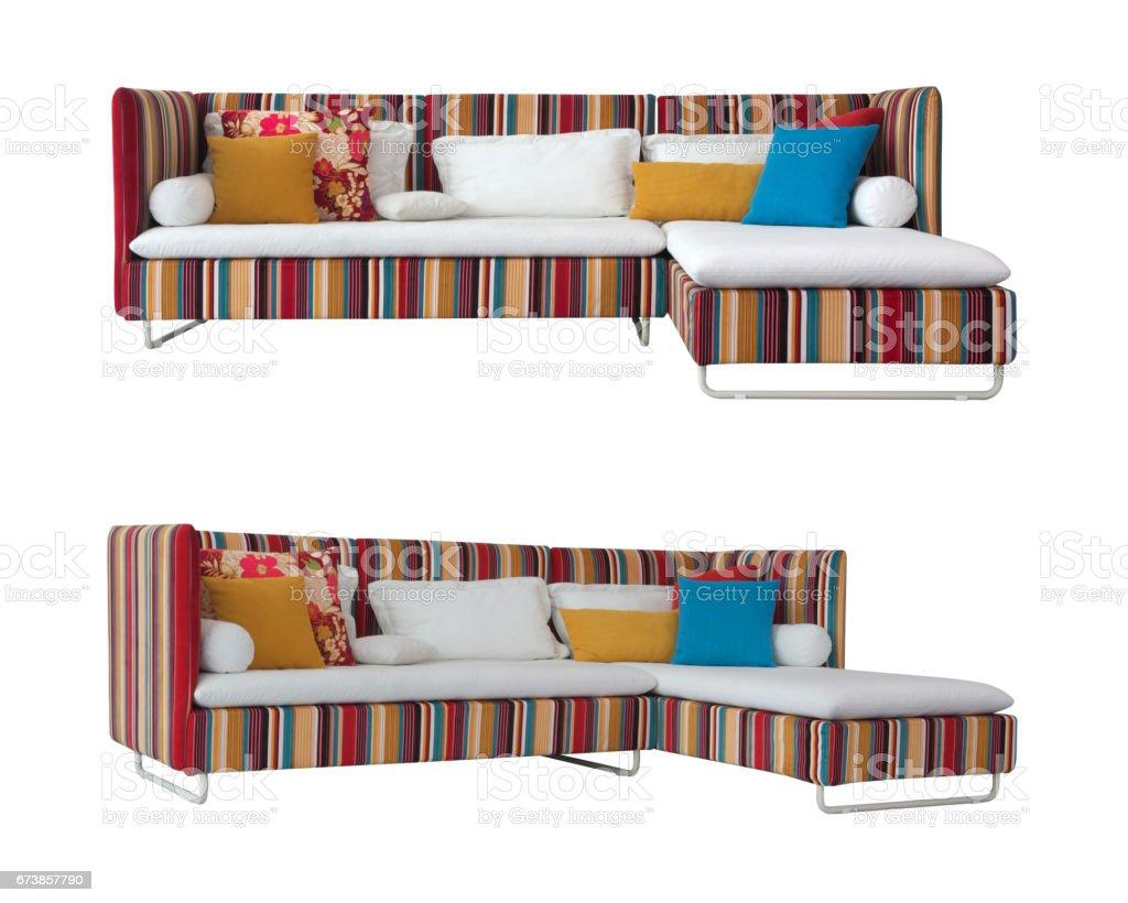 Colorful Sofa photo libre de droits