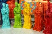 Colorful souvenirs of Lisbon city