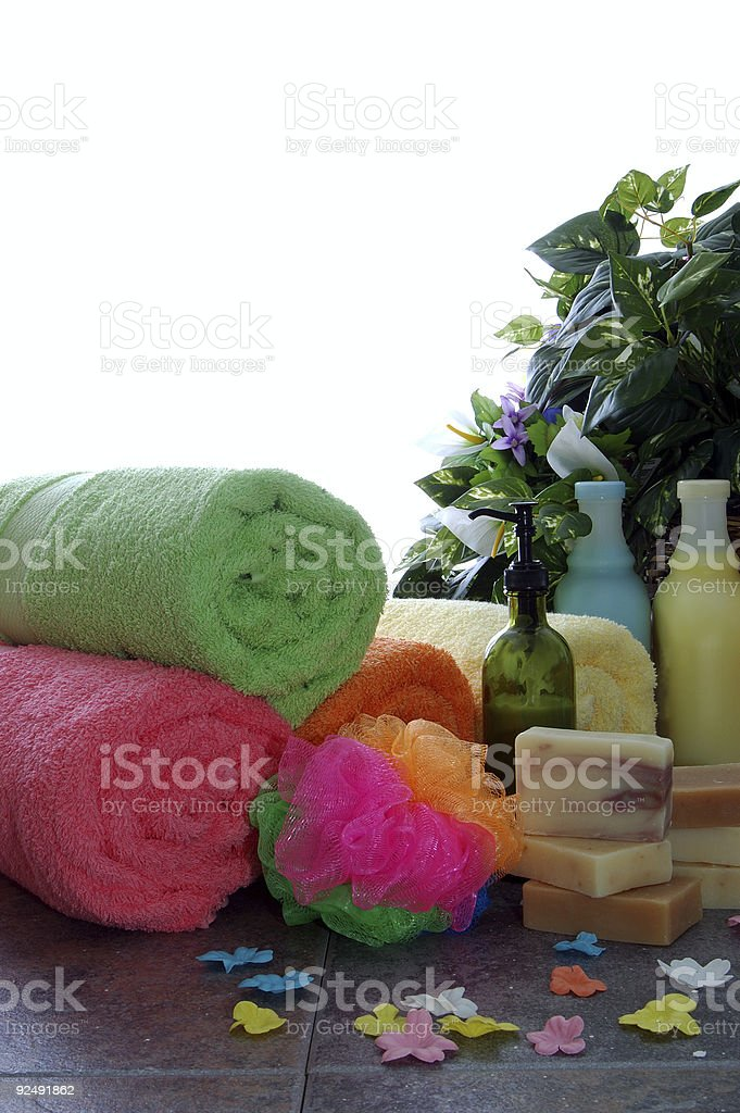 colorful spa royalty-free stock photo