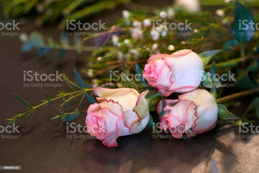 Colorful Spring Flower Bouquet Stock Photo & More Pictures of ...