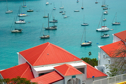 Colorful St Croix Us Virgin Islands Stock Photo - Download Image Now