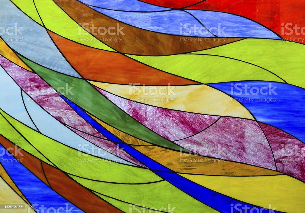 Bunte Glasmalerei – Foto