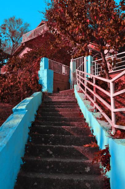 Bunte Treppe – Foto