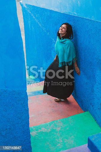 istock Colorful Stairs 1202143547