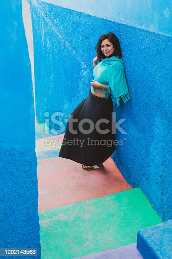 istock Colorful Stairs 1202143563
