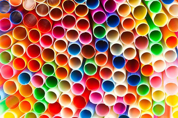 Bunte straws – Foto