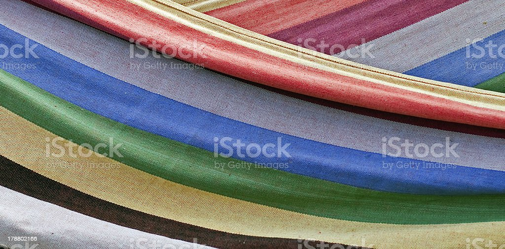 Colorful striped textile abstract background royalty-free stock photo