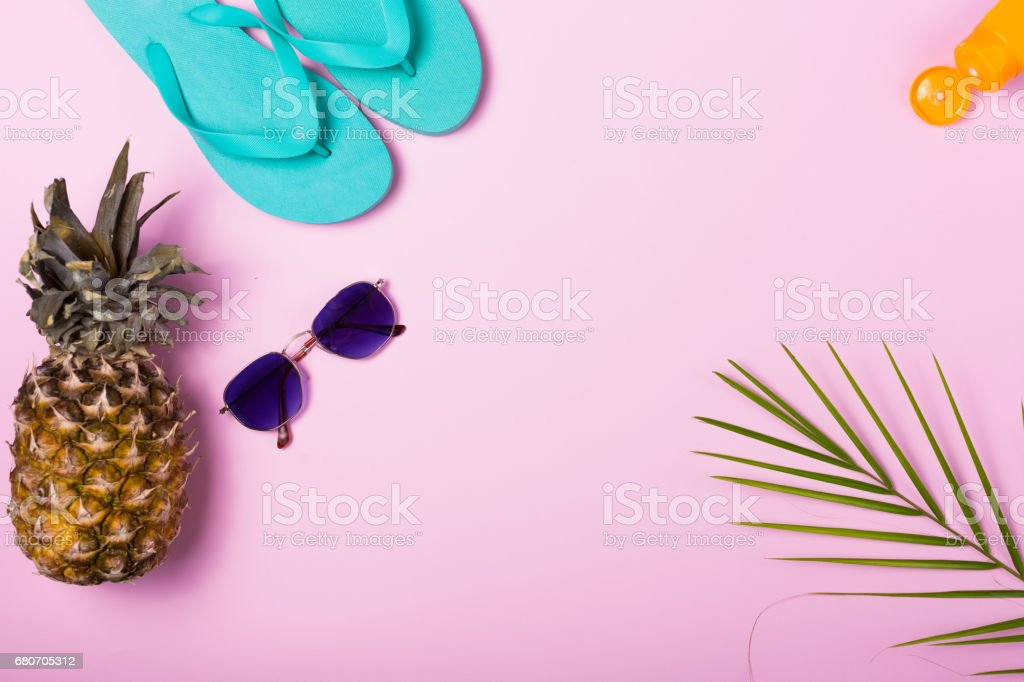 Colorful summer background stock photo