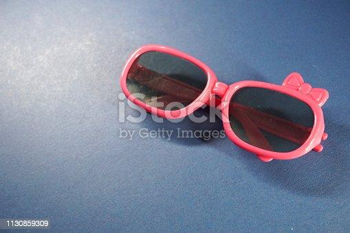 shot of colorful sunglasses
