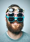 istock Colorful Sunglasses Portrait 665891964