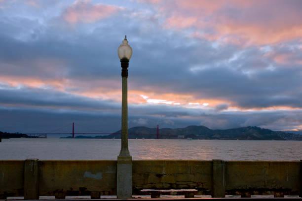 Colorful Sunset at San Francisco Bay