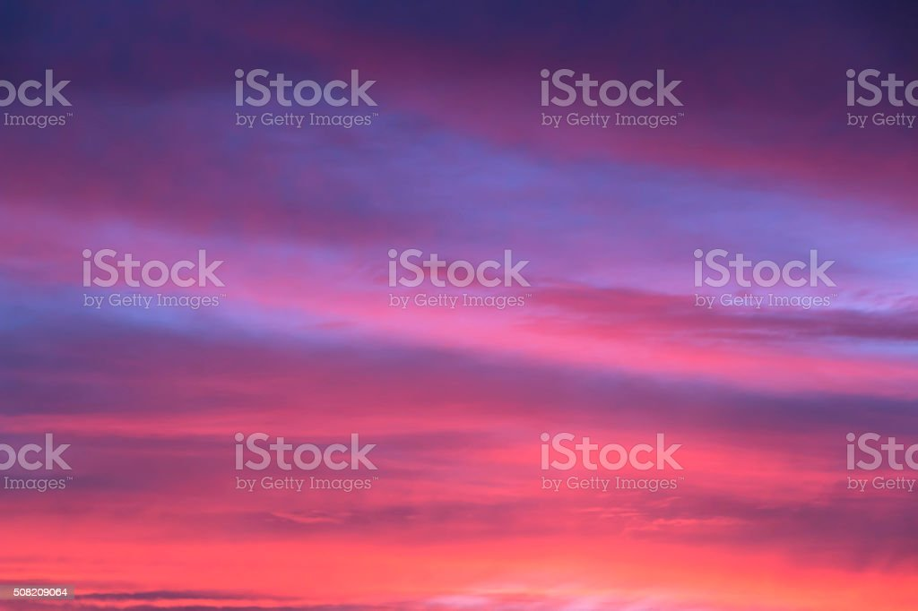 Colorful sunset background stock photo