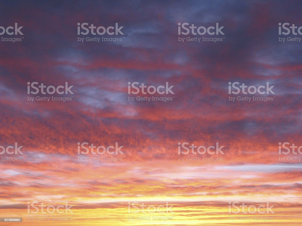 Colorful sunset background royalty-free stock photo