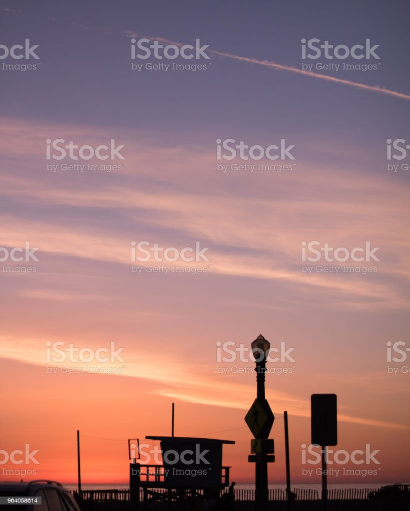 Colorful Sunset - Royalty-free California Stock Photo