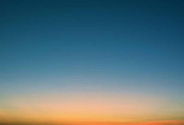 Colorful Sunset Sky Background Retro Styled stock photo