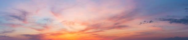 красочный закат сумерки небо - sunset стоковые фото и изображения