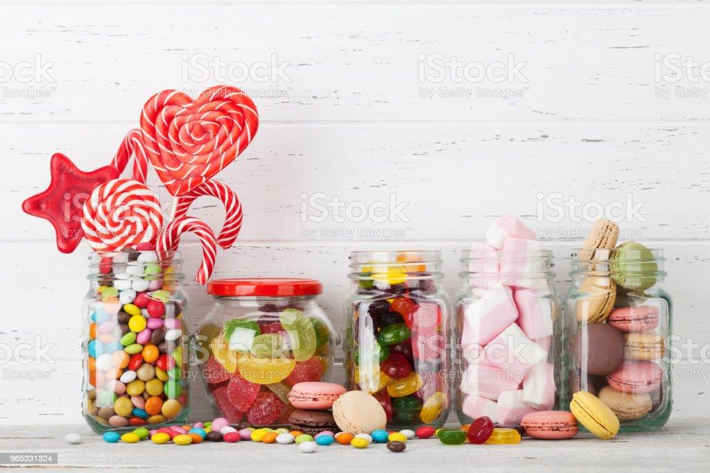 五顏六色的糖果 - 免版稅一組物體圖庫照片