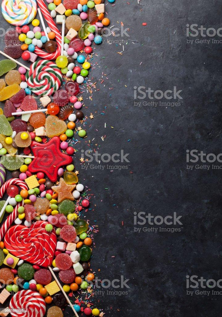 Colorful sweets - Royalty-free Açúcar Foto de stock