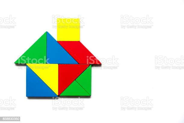 Colorful tangram as home shape on white background picture id838830350?b=1&k=6&m=838830350&s=612x612&h=sbwolabbyqzif20exqrl4m7cceu9xz txpx09ik2ax8=