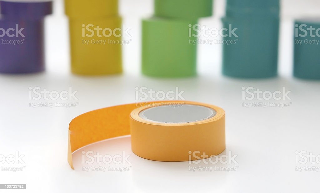 Colorful Tape royalty-free stock photo