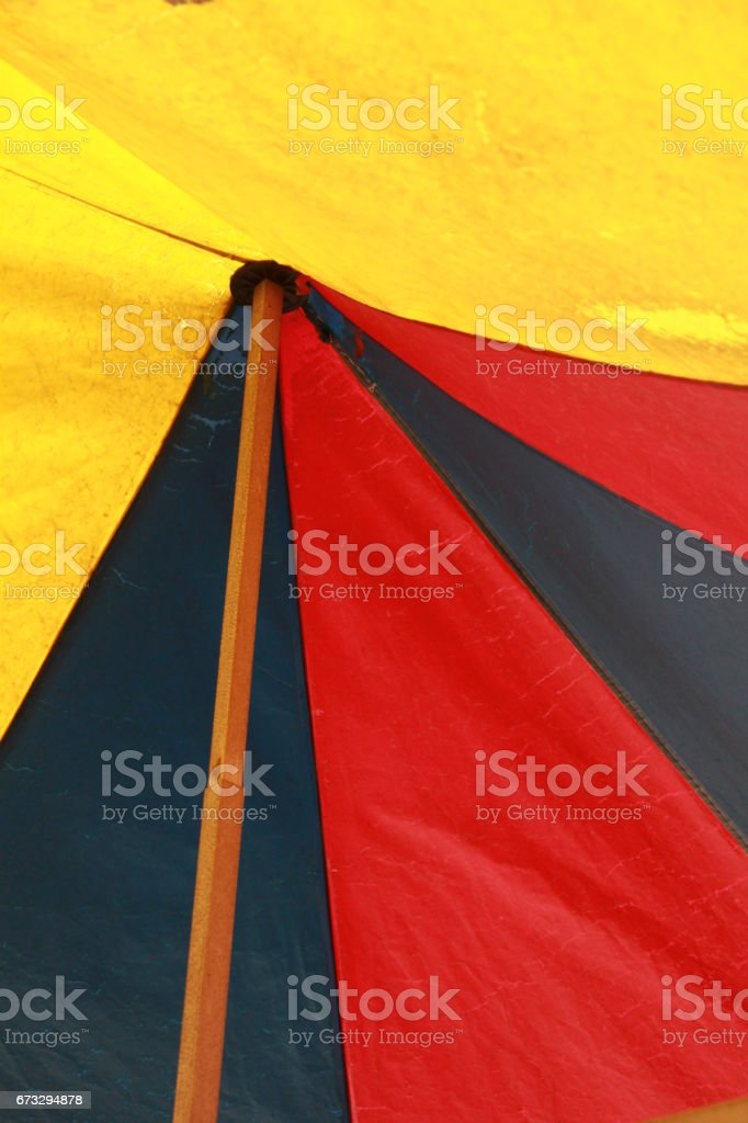colorful tent royalty-free stock photo