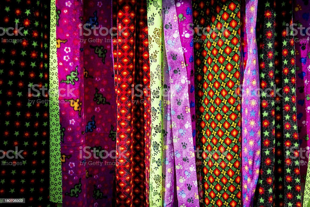 Colorful Textile royalty-free stock photo