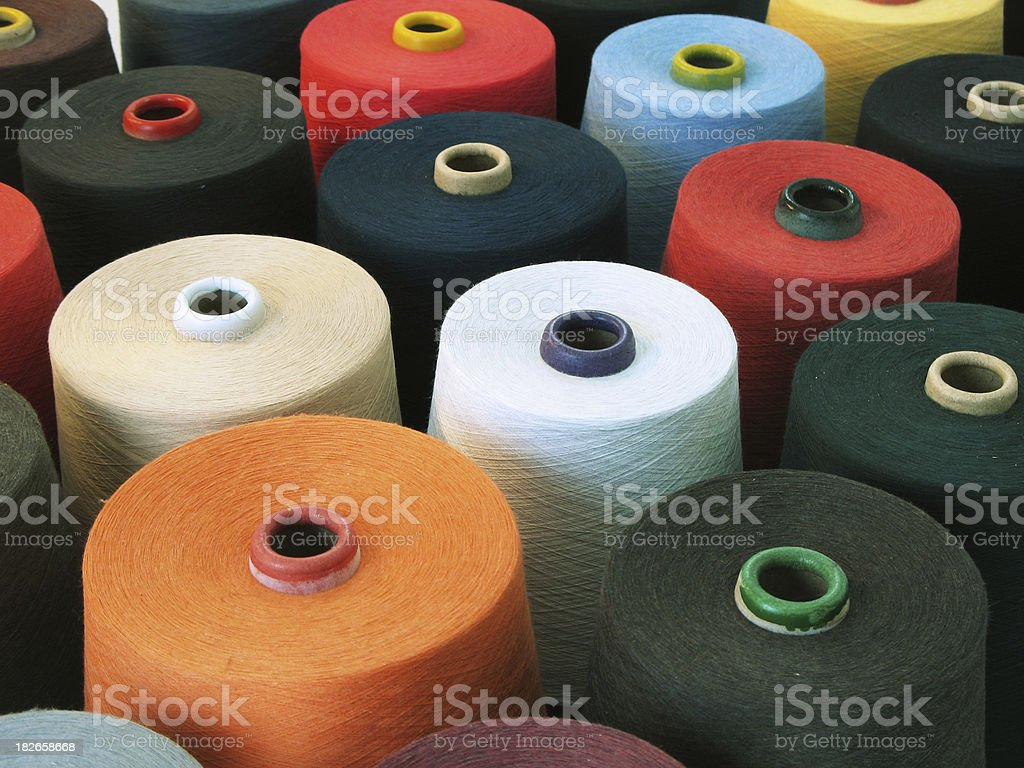 Colorful Textile stock photo