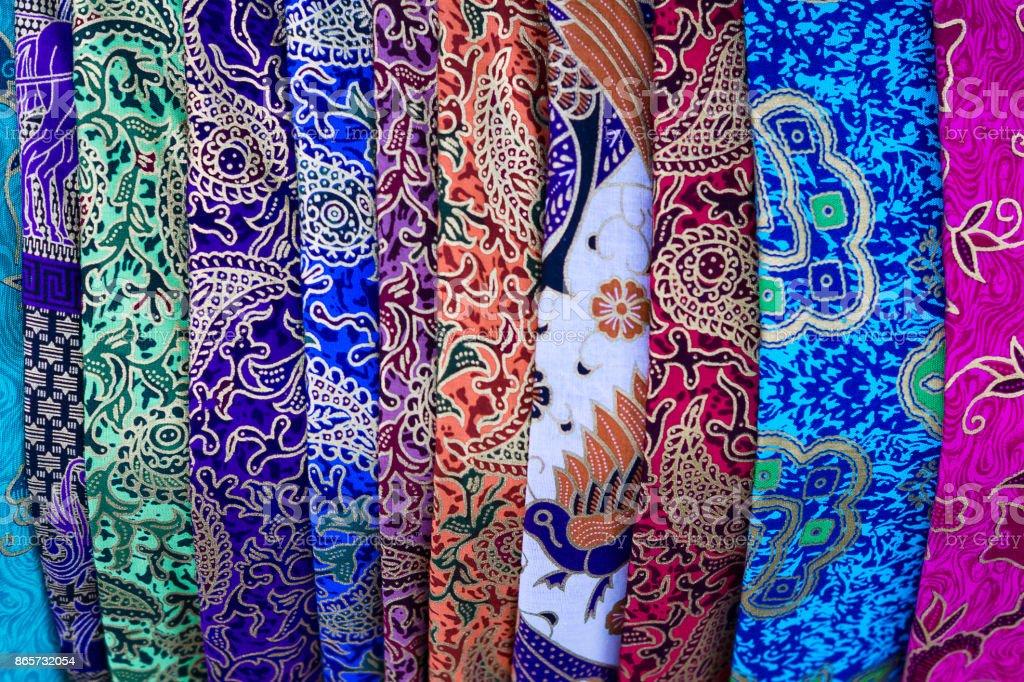 Colorful Textile stock photo