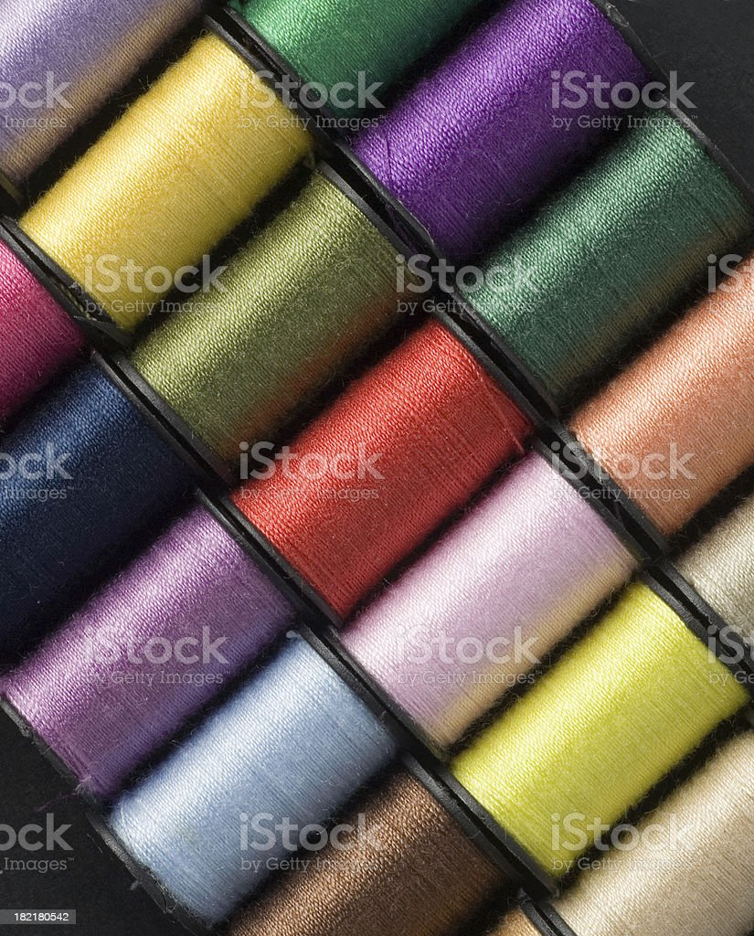 Colorful Thread Pattern royalty-free stock photo