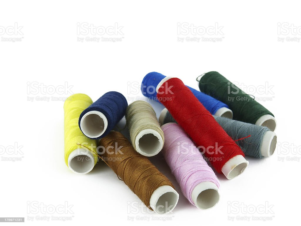 colorful thread royalty-free stock photo