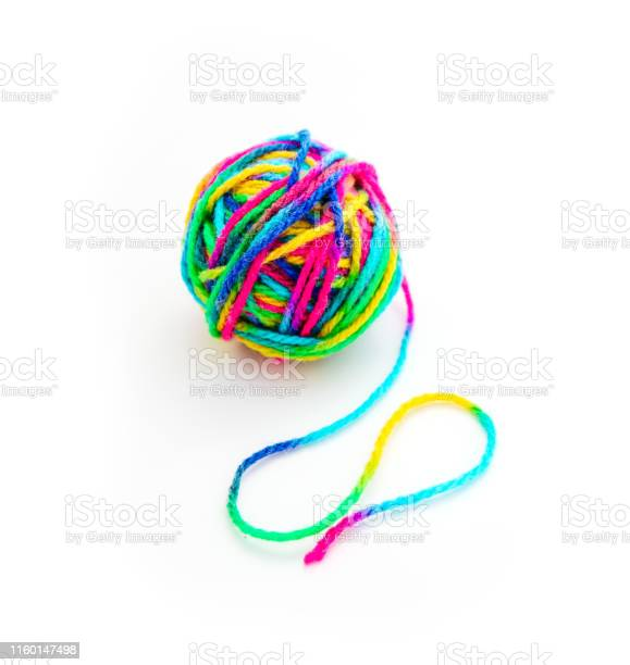 Colorful threat in a ball of yarn end of thread isolated on white picture id1160147498?b=1&k=6&m=1160147498&s=612x612&h=jbgtshn6p0pvy13mcwwaiep5q06c d7qatozq 7f6u8=