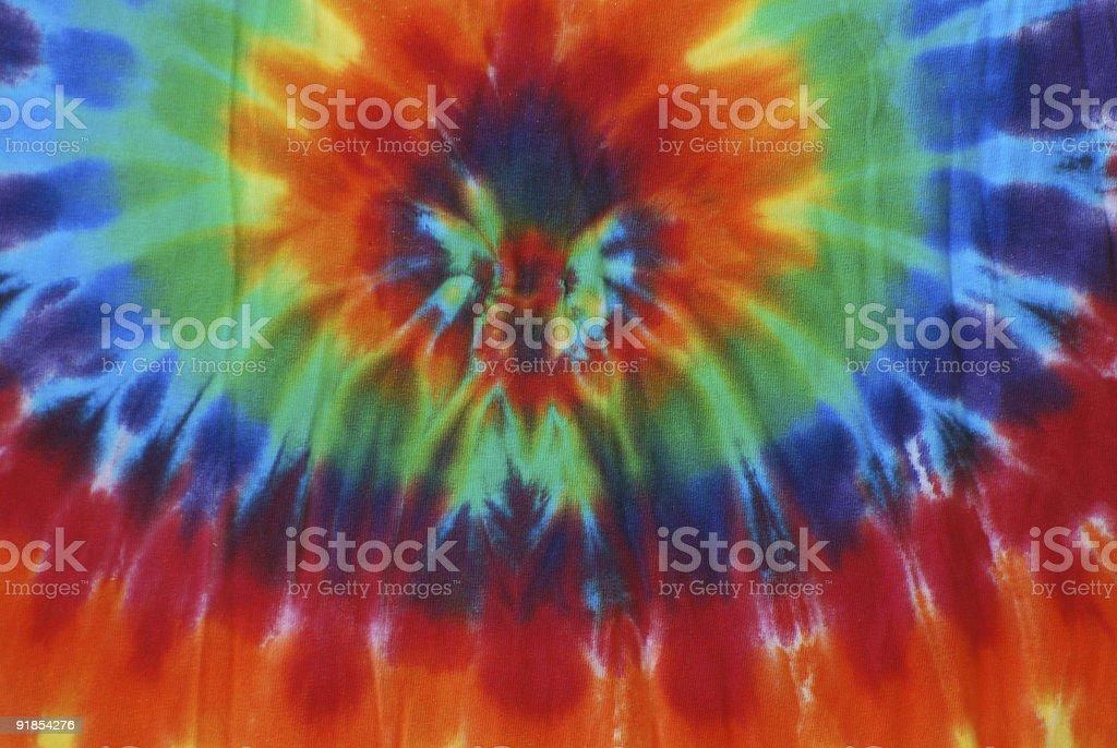 Colorful Tie Dye Design stock photo