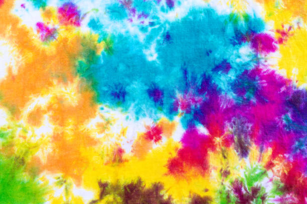 9f958836fa34 Top 60 Close Up Shot Of Colorful Tie Dye Fabric Texture Background ...