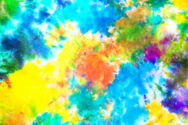 4c2ce58e57e2 colorful tie dye pattern background. stock photo. purple tie dye fabric  texture ...
