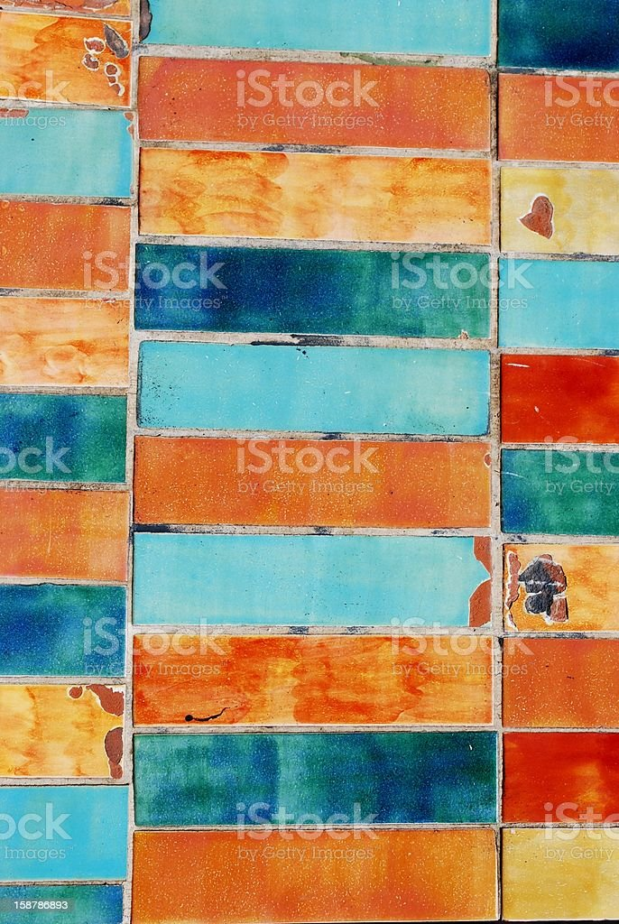 Colorful tiles background royalty-free stock photo