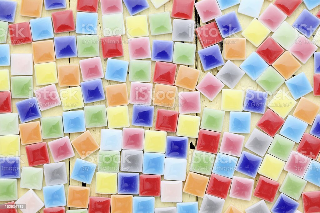 colorful tiles royalty-free stock photo