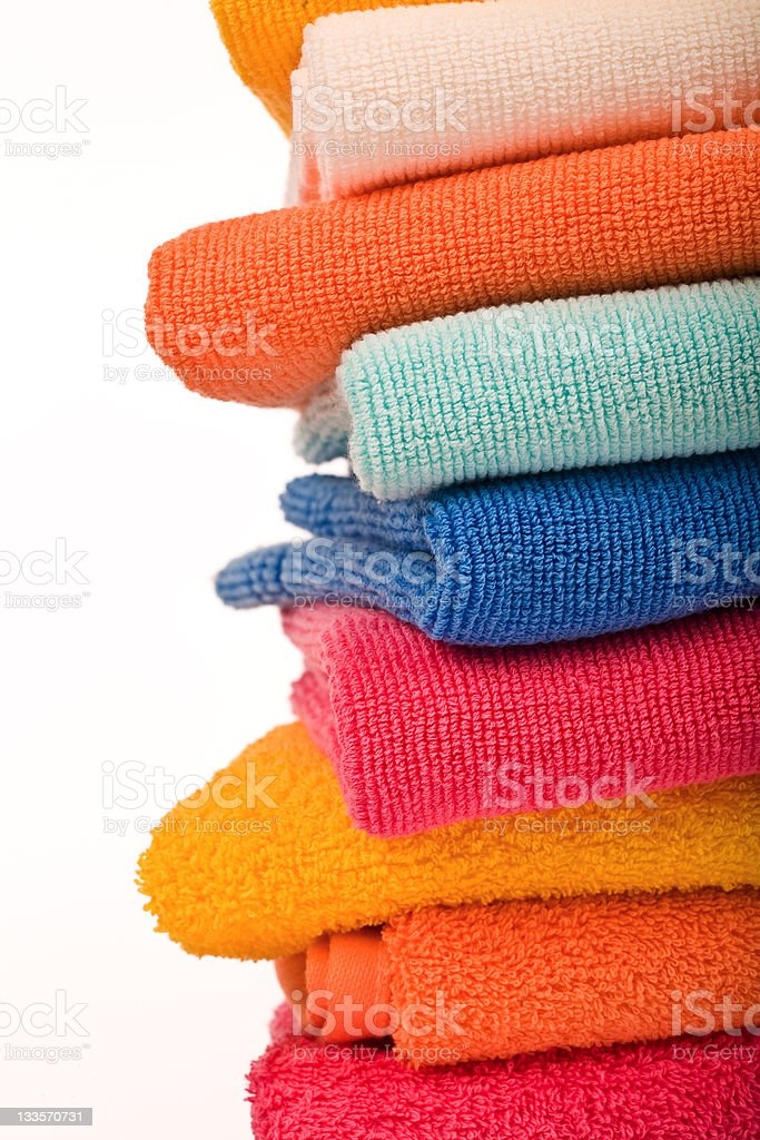 Colorful Towels royalty-free stock photo