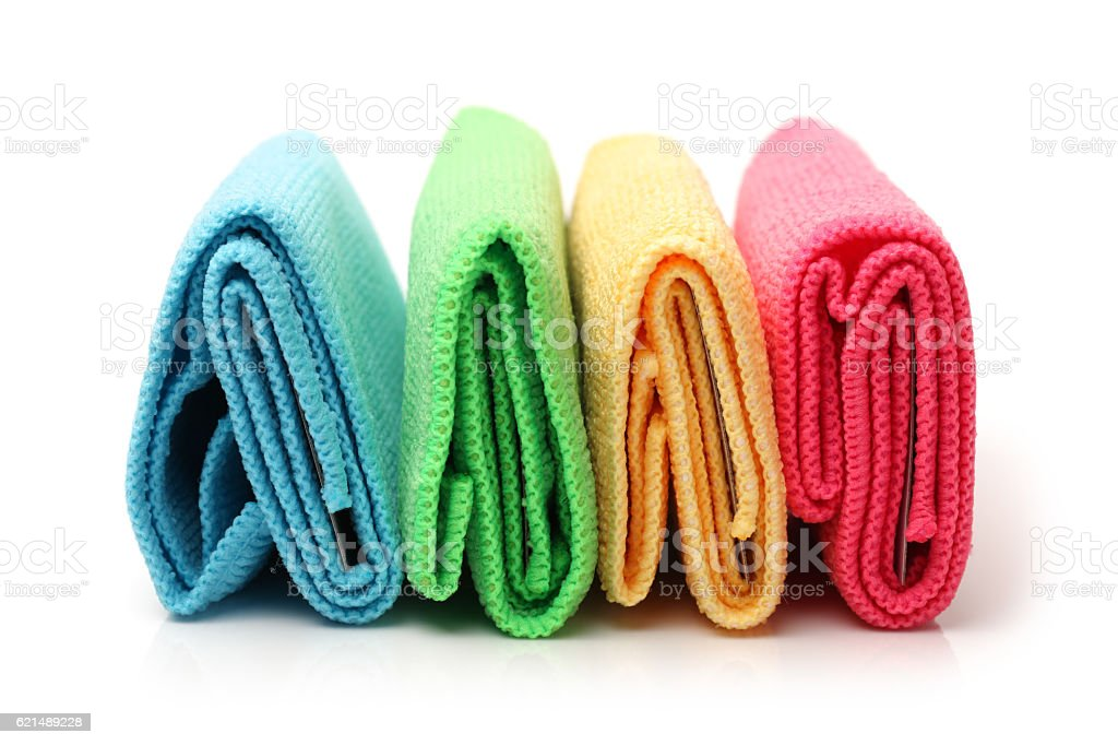 Asciugamani colorati  foto stock royalty-free