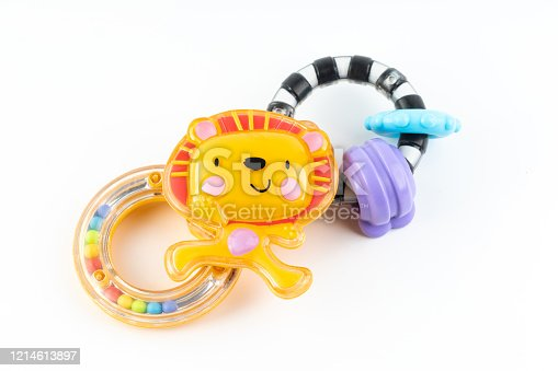Colorful toy Baby toy rattle