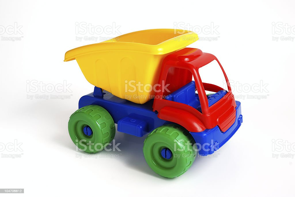 Colorful Toy Truck royalty-free stock photo