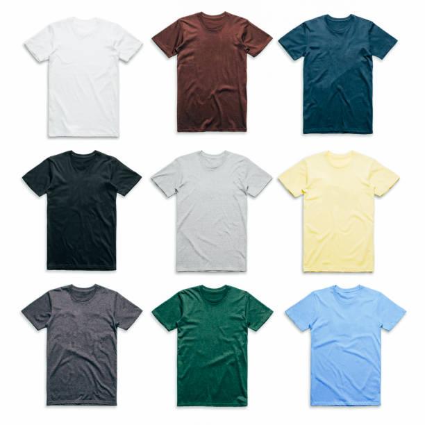 화려한 티셔츠 컬렉션 - t 셔츠 뉴스 사진 이미지