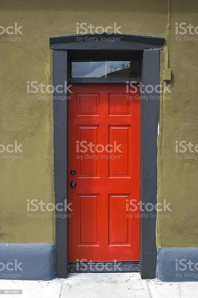 Colorful Tucson Doorway royalty-free stock photo