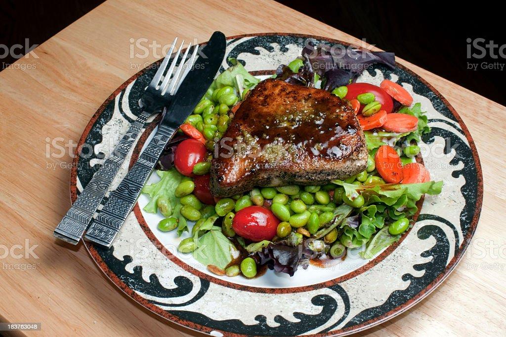Colorful Tuna Salad stock photo