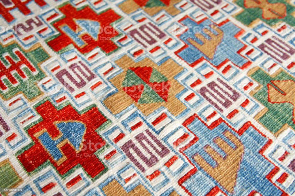 Colorful Turkish Carpet Backgrounds